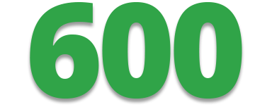 600 - Number of Executive Searches Completed Since 2006