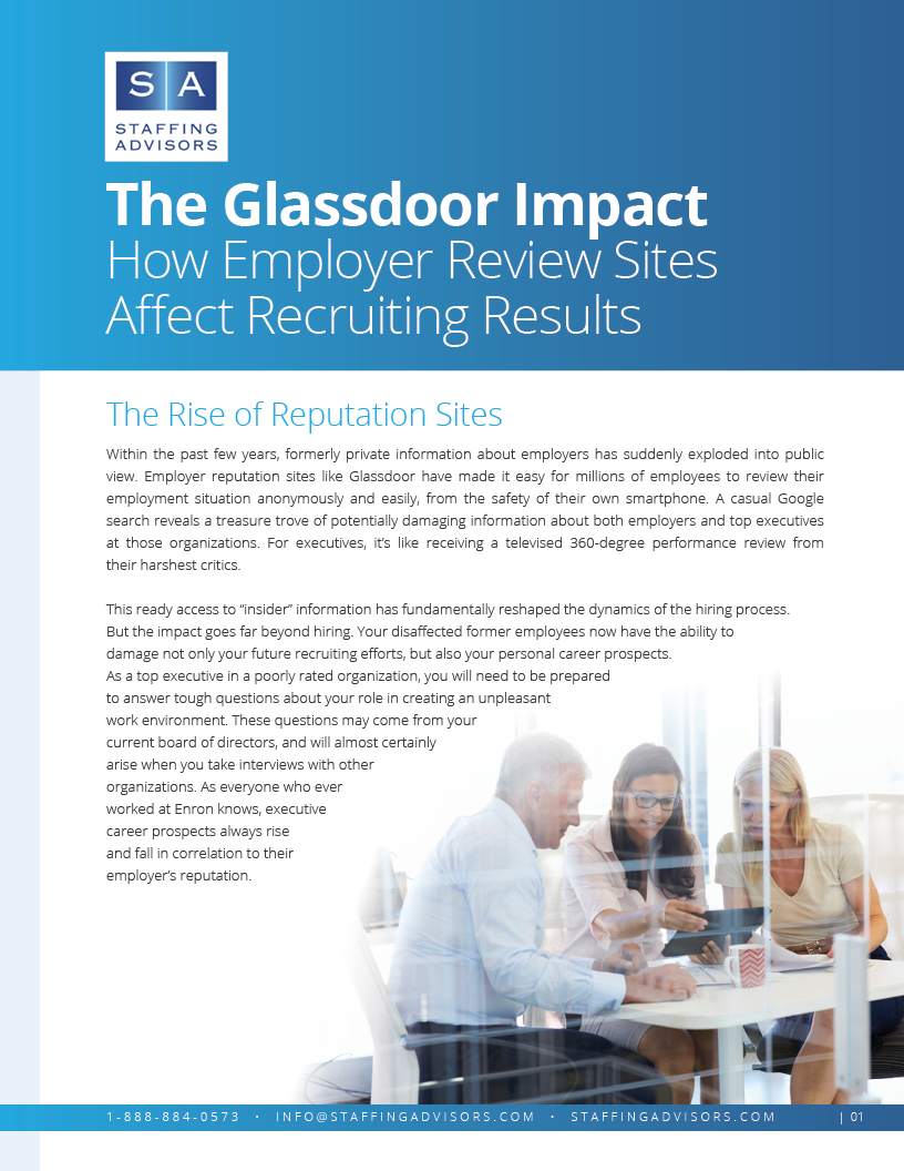 The Glassdoor Impact: How Employer Review Sites Affect Recruiting Results